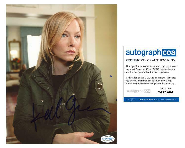 "Kelli Giddish ""Law & Order: SVU"" AUTOGRAPH Signed 8x10 Photo C ACOA"