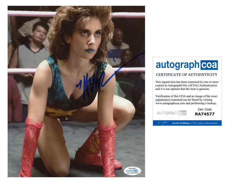 "Alison Brie ""Glow"" AUTOGRAPH Signed 8x10 Photo D ACOA"