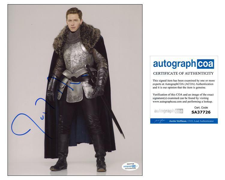 """Josh Dallas """"Once Upon a Time"""" AUTOGRAPH Signed 'Prince Charming' 8x10 Photo B"""