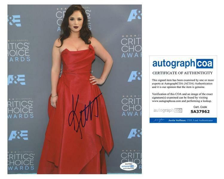 """Kether Donohue """"You're the Worst"""" AUTOGRAPH Signed 8x10 Photo ACOA"""