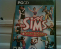 PC CD The Sims Deluxe Edition (jeux) 15 $