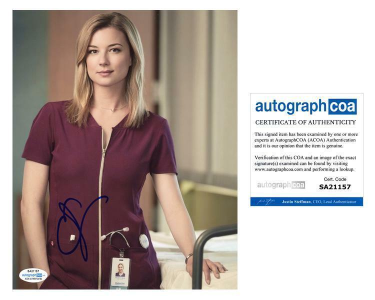 "Emily VanCamp ""The Resident"" AUTOGRAPH Signed 'Nicolette Nevin' 8x10 Photo ACOA"