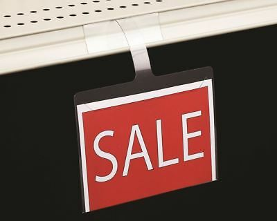 Retail Shelf Wobbler Sign Holders-price Sign Displays-gondola-5lot