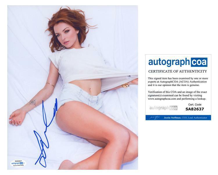"Francesca Eastwood ""Old"" AUTOGRAPH Signed 8x10 Photo ACOA"