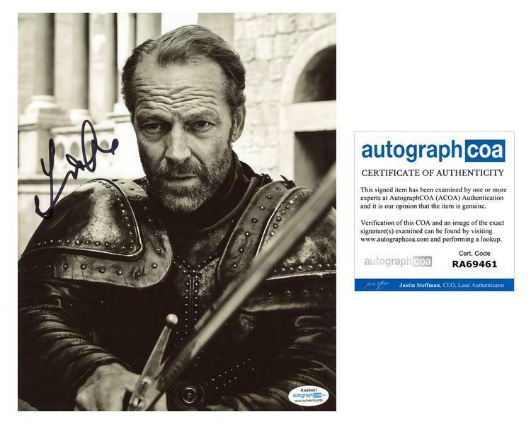 "Iain Glen ""Game of Thrones"" AUTOGRAPH Signed 8x10 Photo D ACOA"
