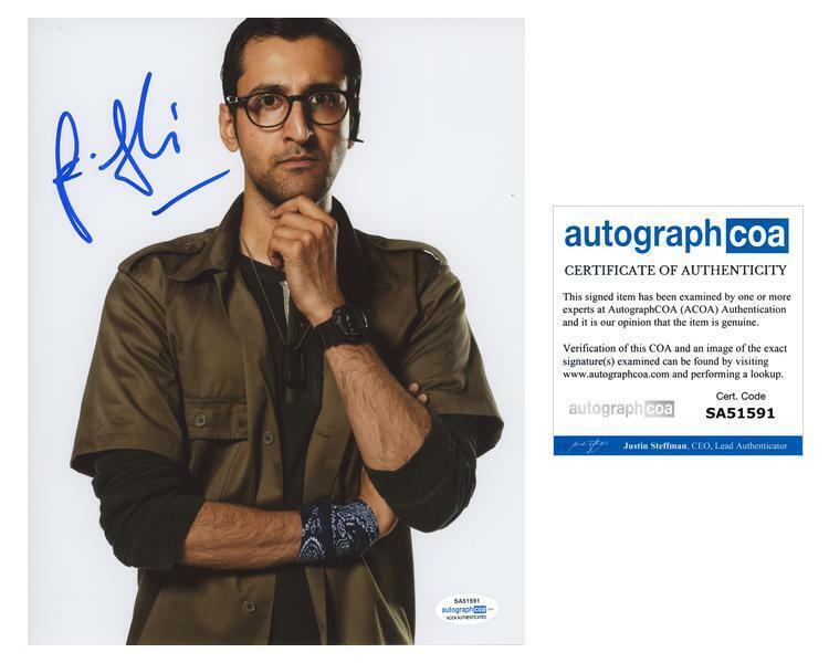 """Arsher Ali """"Doctor Who"""" AUTOGRAPH Signed 'Bennett' 8x10 Photo ACOA"""