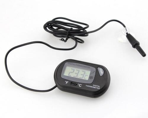 Digital Aquarium Indoor Outdoor Thermometer Temperature Hygrometer Meter TO