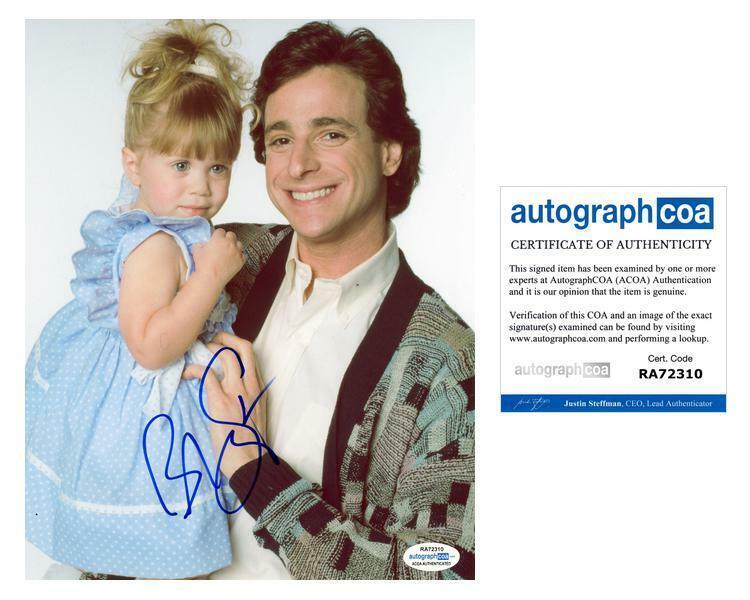"Bob Saget ""Full House"" AUTOGRAPH Signed 8x10 Photo D ACOA"