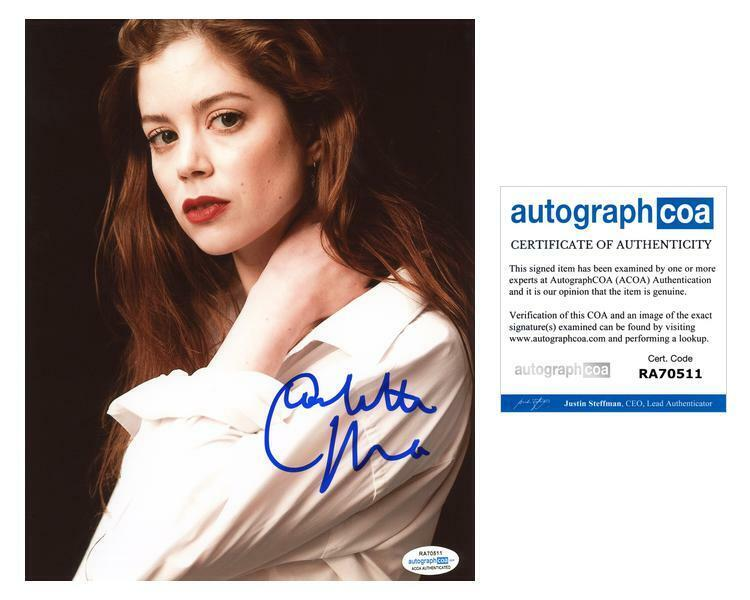 "Charlotte Hope ""The Spanish Princess"" AUTOGRAPH Signed 8x10 Photo ACOA"
