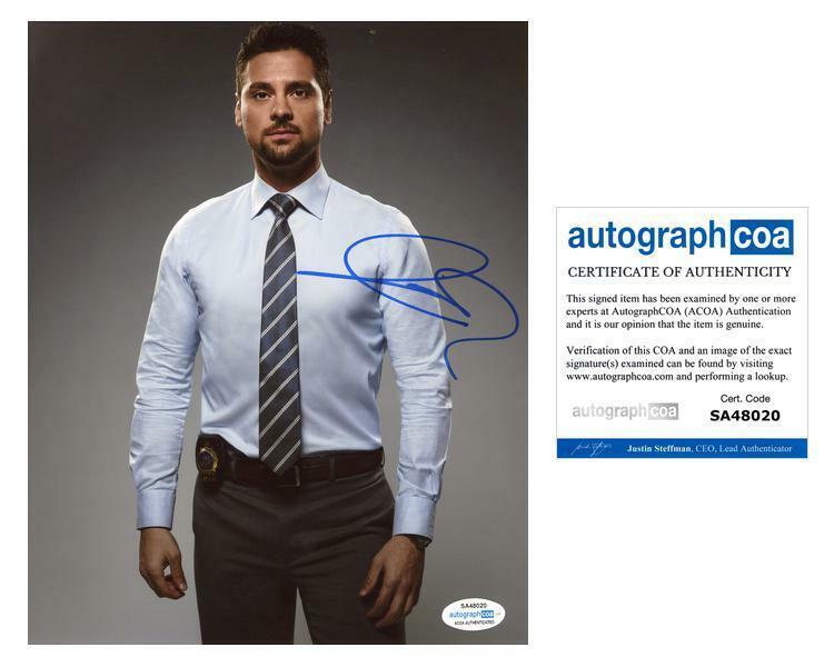"J.R. Ramirez ""Manifest"" AUTOGRAPH Signed 'Jared Vasquez' 8x10 Photo ACOA"