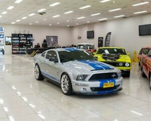 2009 Ford Mustang Shelby GT500KR Silver 6 Speed Manual Coupe Carss Park Kogarah Area Preview