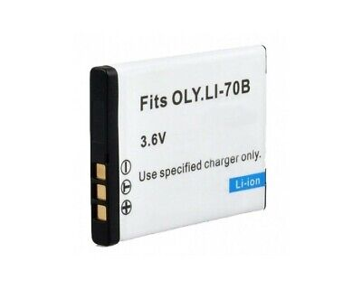 Batería para cámara Digital para Olympus Fits OLY.LI-70B