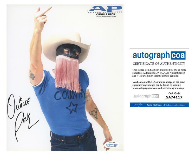 "Orville Peck ""Pony"" AUTOGRAPH Signed 8x10 Photo ACOA"