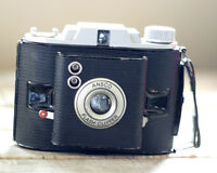 1954 ANSCO FLASH CLIPPER COLLAPSIBLE FRONT CAMERA