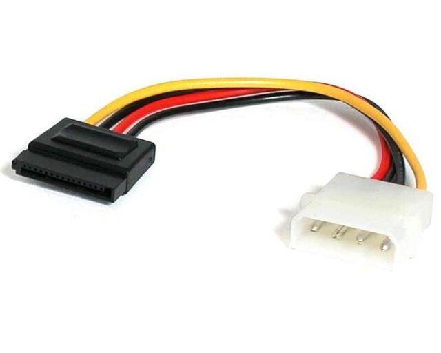 StarTech.com (15.24cm) 4-pin Molex to SATA Power Cable Adaptor