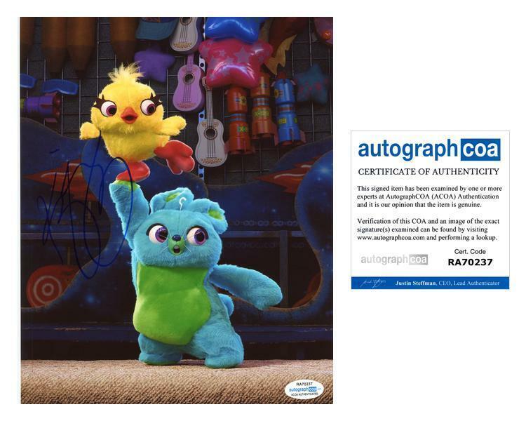 "Keegan-Michael Key ""Toy Story 4"" AUTOGRAPH Signed 8x10 Photo ACOA"