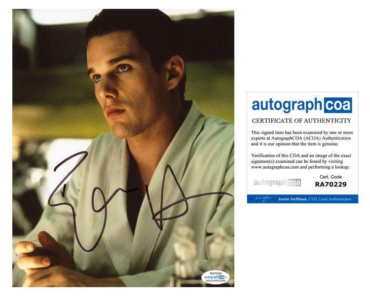 "Ethan Hawke ""Gattaca"" AUTOGRAPH Signed 8x10 Photo ACOA"
