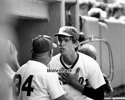 MLB 1978 Bill Spaceman Lee & Coach Don Zimmerman Boston Red Sox 8 X 10 Photo -