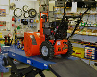 Snowblower repair / Reparation de souffleuse