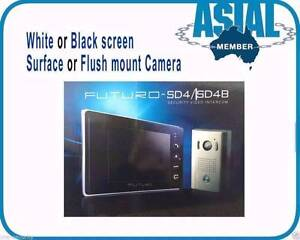 Futuro Video Intercom 7'' SD4 Monitor Black/White with Memory CZ4 Dundas Parramatta Area Preview