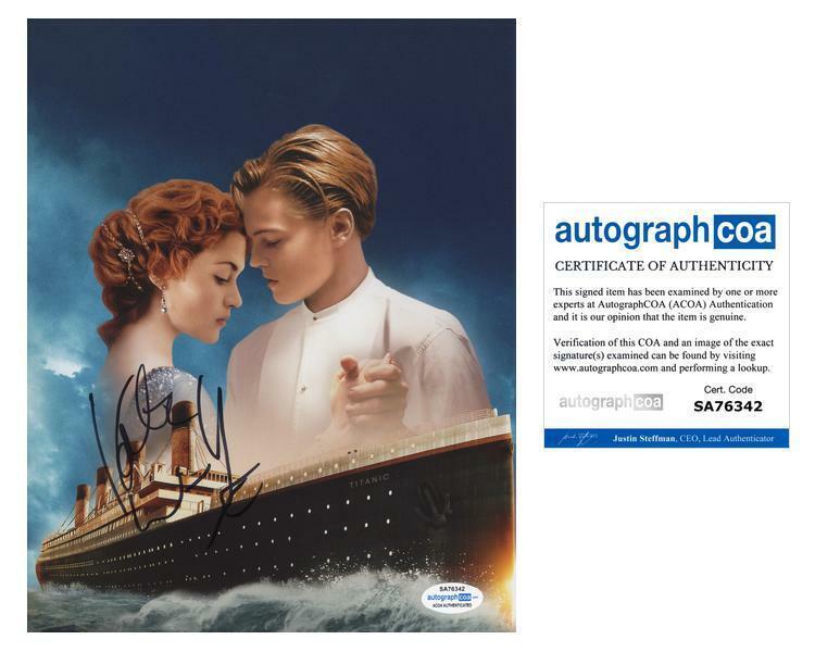 "Kate Winslet ""Titanic"" AUTOGRAPH Signed 'Rose' 8x10 Photo B ACOA"