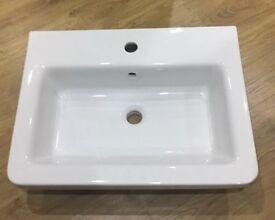 New saneux indigo bathroom sink