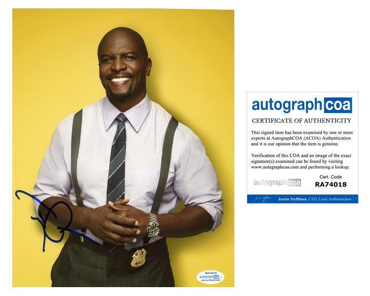 "Terry Crews ""Brooklyn Nine-Nine"" AUTOGRAPH Signed 8x10 Photo C ACOA"