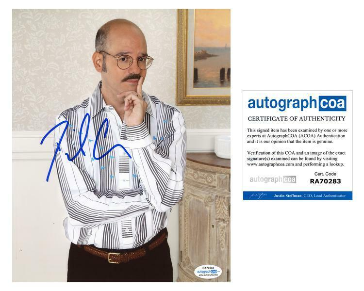 "David Cross ""Arrested Development"" AUTOGRAPH Signed 8x10 Photo ACOA"