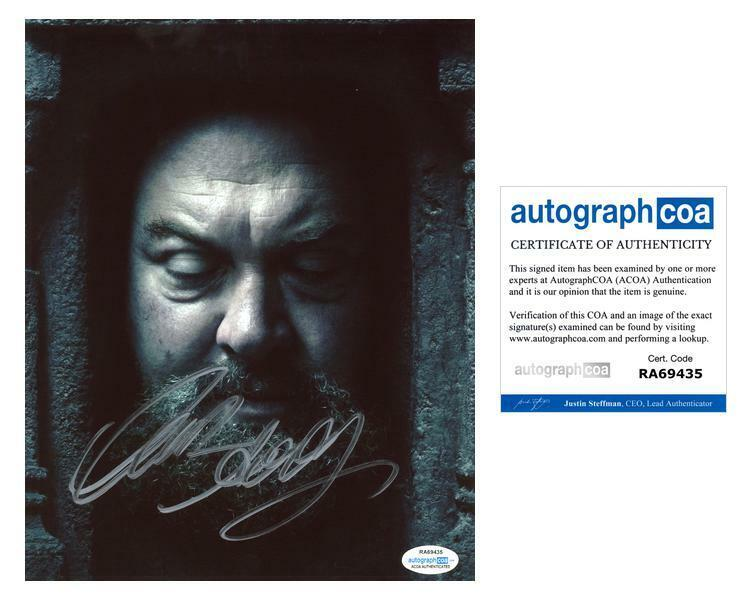 """Mark Addy """"Game of Thrones"""" AUTOGRAPH Signed 8x10 Photo D ACOA"""