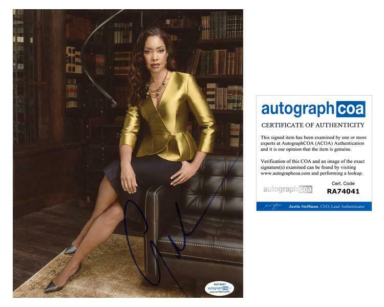 "Gina Torres ""Suits"" AUTOGRAPH Signed 8x10 Photo B ACOA"