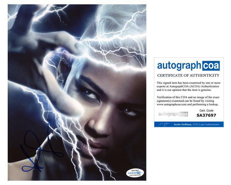 "Alexandra Shipp ""X-Men: Apocalypse"" AUTOGRAPH Signed 'Storm' 8x10 Photo B ACOA"
