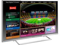 panasonic viera tx42as740b led. 3d. smart. wifi build in. free sat build in. mint condition