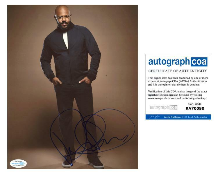 "Rockmond Dunbar ""9-1-1"" AUTOGRAPH Signed 8x10 Photo ACOA"