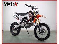 MotoX1 YX-160 160cc dirtbike pitbike race ready stomp/demonX engine