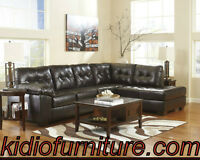 2pcs Ashley Sectional Set Lowest Prices Guaranteed