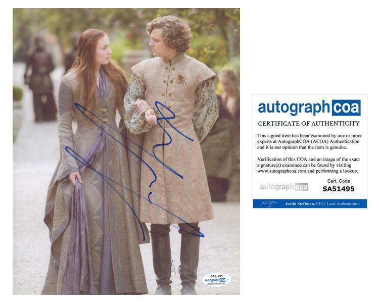 "Finn Jones ""Game of Thrones"" AUTOGRAPH Signed 'Loras Tyrell' 8x10 Photo ACOA"