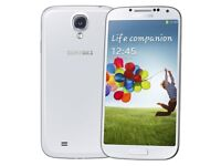 Samsung Galaxy S4 White (Unlocked) Smartphone - Good Condition