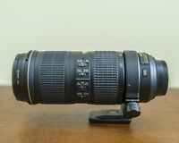Nikon AF-S 70-200mm f/4 with RT-1 Tripod Collar & Promaster UV