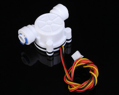 "G1/4"" Water Flow Hall Sensor Switch PE Pipe Flow Meter Flowmeter Counter 3.5-12V comprar usado  Enviando para Brazil"