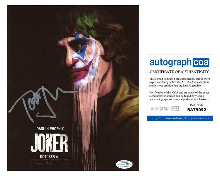 "Todd Phillips ""Joker"" Director AUTOGRAPH Signed 8x10 Photo H ACOA"