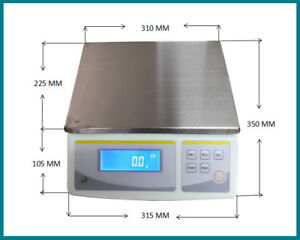 Bench top 30kg x 0.1g Digital Weigh & Count Scale