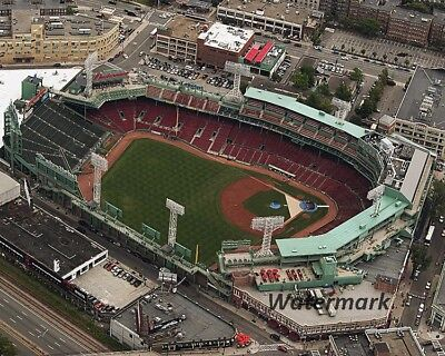 MLB Boston Red Sox Fenway Park Aerial View Color  8 X 10 Photo Pic Free Shipping