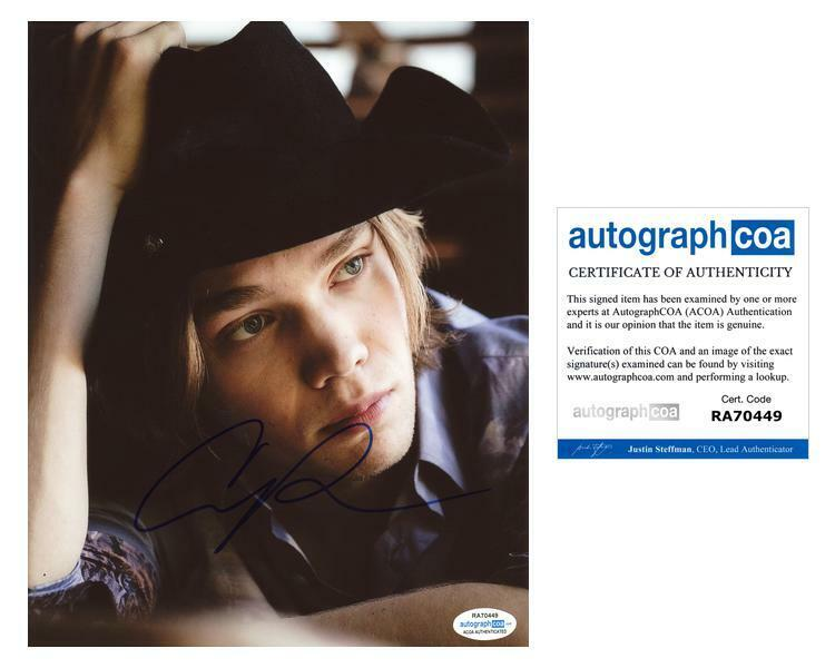"Charlie Plummer ""Looking for Alaska"" AUTOGRAPH Signed 8x10 Photo F ACOA"