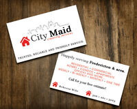 """CITY MAID - """"Enjoy your home without lifting a finger!"""""""