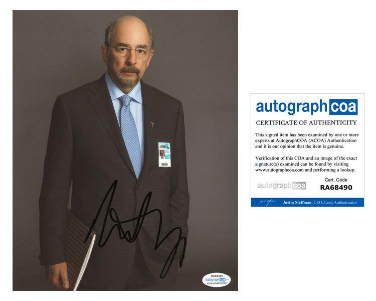 "Richard Schiff ""The Good Doctor"" AUTOGRAPH Signed 8x10 Photo ACOA"