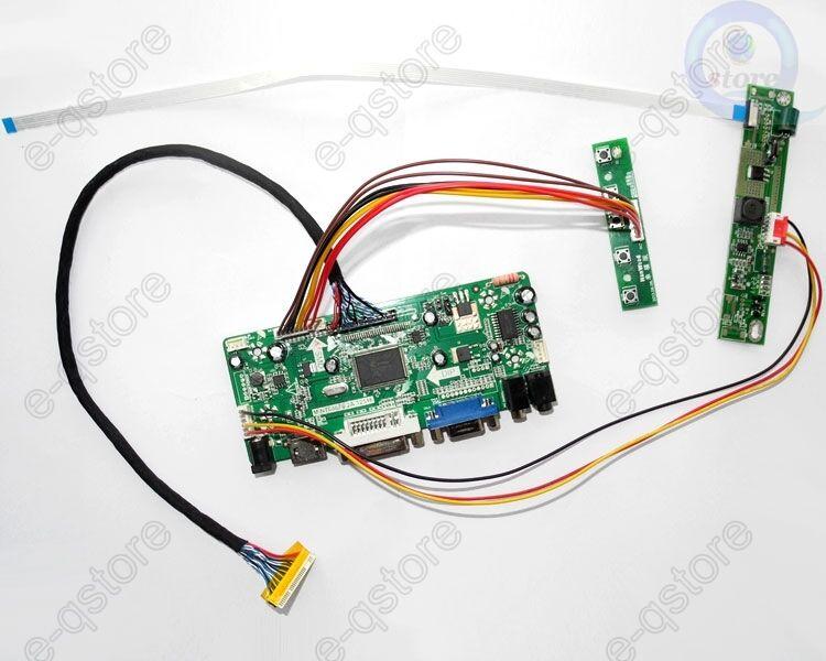 LCD Controller Monitor Board Driver Kit for N156HGE-LA1 1920X1080 HDMI+DVI+VGA