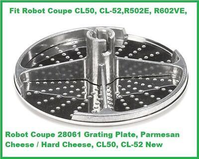 Robot Coupe 28061 Grating Plate Parmesan Hard Cheese Cl50 Cl-52 R502e R602ve