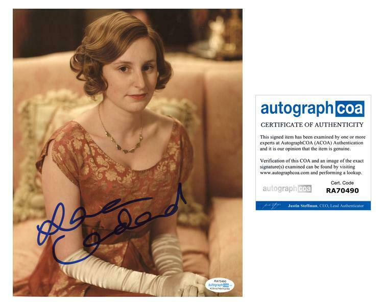 "Laura Carmichael ""Downton Abbey"" AUTOGRAPH Signed 8x10 Photo G ACOA"