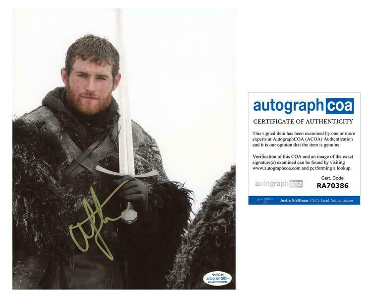 """Mark Stanley """"Game of Thrones"""" AUTOGRAPH Signed 8x10 Photo B ACOA"""