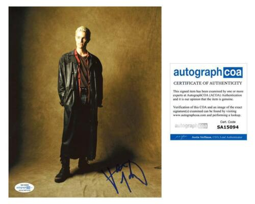 """James Marsters """"Buffy the Vampire Slayer"""" AUTOGRAPH Signed 'Spike' 8x10 Photo"""